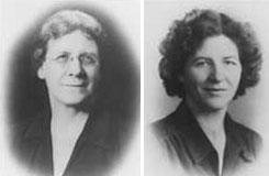 Katharina Cook-Briggs and Isabel Briggs-Myers